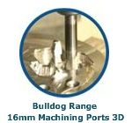 Bulldog Range 16mm Machining Ports 3D