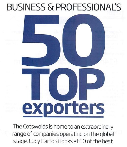 Quickgrind has again featured in the Top 50 list of Exporters based